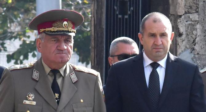 Радев: Генерал Боцев ще бъде запомнен като истински родолюбец и човек на честта