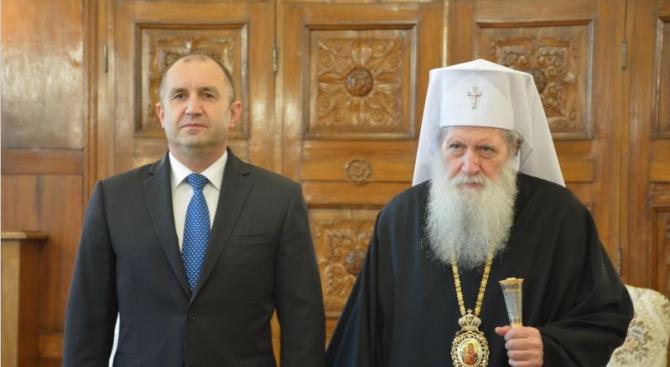 Патриарх Неофит се срещна с президента Румен Радев