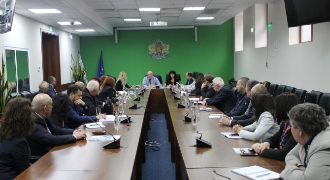 Министър Димитров заяви подкрепата си за регионалните структури на МОСВ