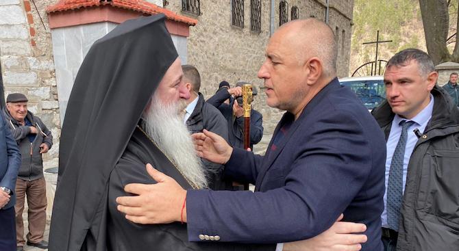 Бойко Борисов: Без Господ нищо не може да се направи