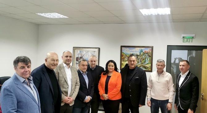 Ръководството на КСБ и вицепрезидентът на ЕИБ  Лиляна Павлова проведоха работна среща