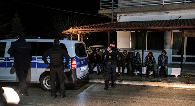 Европейската агенция за контрол на границите Фронтекс разположи подкрепления и