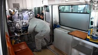 Демонстрираха как се посрещат пътници с коронавирус на Летище София