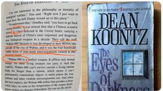 Коронавирусът е бил предвиден в роман на ужаса още през 1981 г.