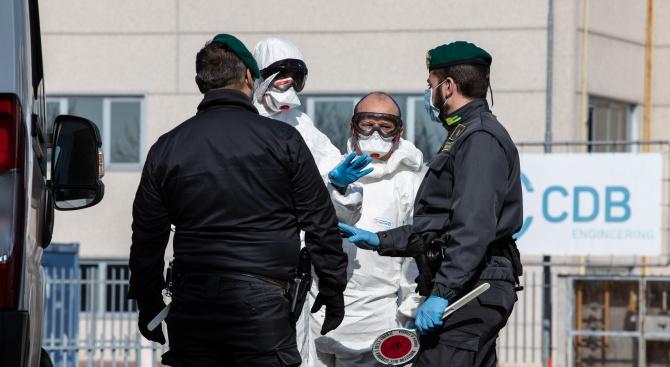 52 са вече смъртните случаи от коронавируса в Италия