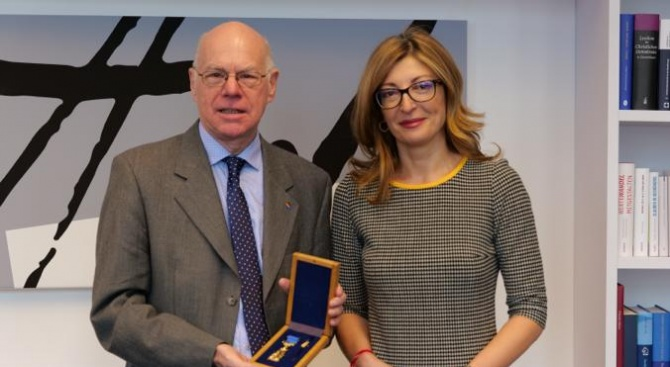 Вицепремиерът Екатерина Захариева Екатерина Захариева е заместник министър-председател по правосъдната