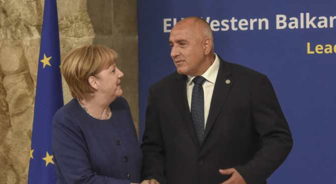 Борисов и Меркел обсъдиха ситуацията с мигрантите и мерките за сигурност