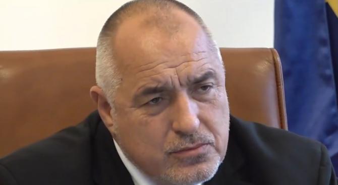 Борисов:  Полагам огромни усилия да потушим конфликта с мигрантите