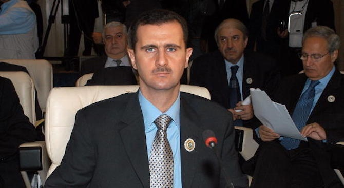 Сирийският президент Башар АсадБаша̀р Ха̀фез ал-А̀сад е роден в Дамаск