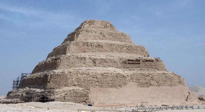 Най-старата пирамида в Египет отваря врати за посещения