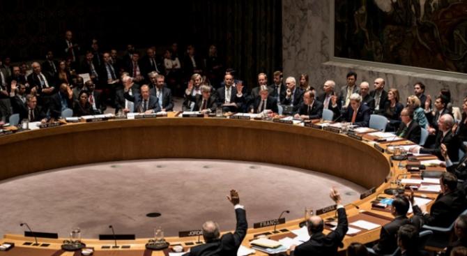 САЩ блокираха вчера приемането на декларация от Съвета за сигурност