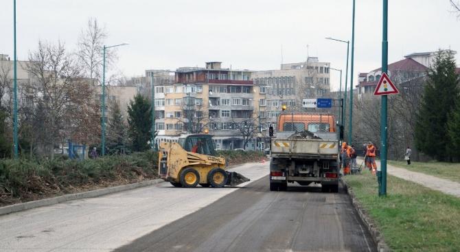 """Близо 1, 3 млн. лв. ще бъдат вложени в ремонта на булевард """"Цар Освободител"""" в Търговище"""