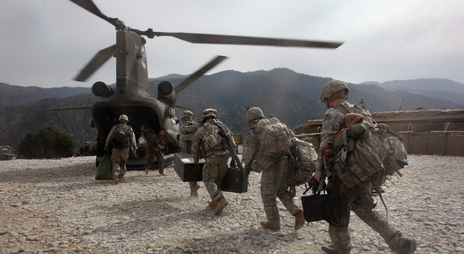 САЩ започнаха да изтеглят войските си от Афганистан
