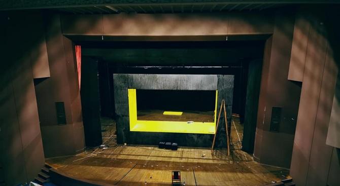 """Работещите в благоевградския драматичен театър """"Никола Вапцаров"""" излизат днес на"""