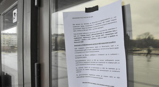 Театри затварят врати заради коронавируса, в моловете не липсват клиенти
