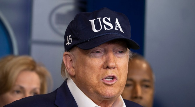 Президентът на САЩ Доналд Тръмп Доналд Тръмп - американски бизнесмен