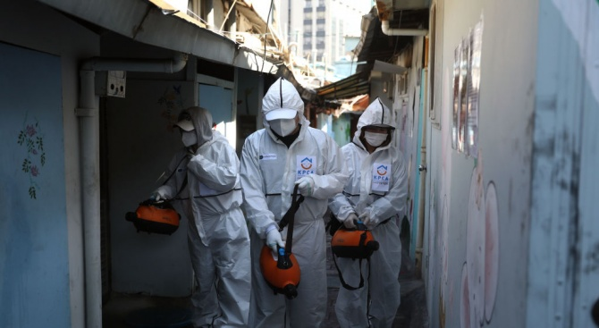 Южна Корея съобщи днес за нови 74 случая през последното