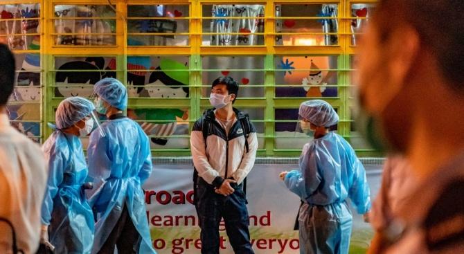 В континентален Китай вчера бяха потвърдени 16 нови случая на