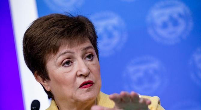 Кристалина Георгиева: МВФ мобилизира 1 трлн. долара за борба с COVID-19