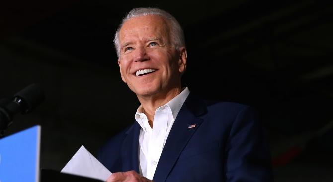 Джо Байдън спечели  първичните избори  в щата Вашингтон