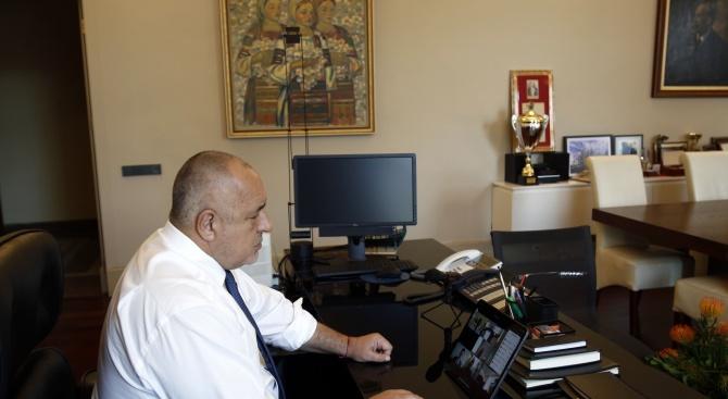 Днес проведохме заседанието на Министерския съвет чрез видеоконферентна връзка. Това