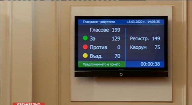 Парламентът прие на първо четене изцяло нов Закона за мерките