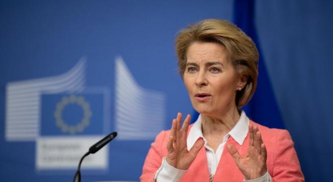 Фон дер Лайен: ЕС е отворен за ново забавяне на Брекзит заради COVID-19