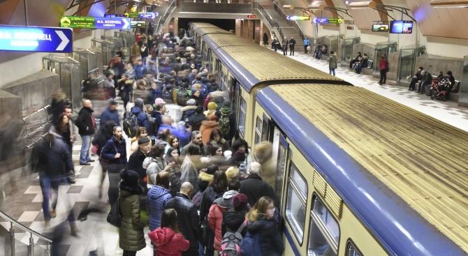 От 25.03 2020 г метрото ще се движи в пик