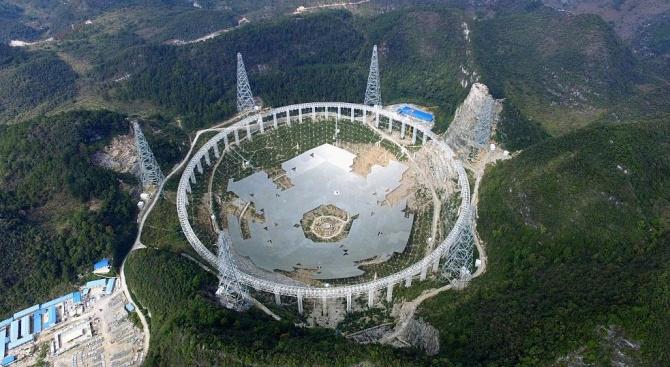 Китай за пръв път конструира слънчев телескоп