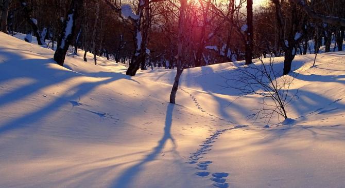 Над 2 метра са преспите на пътя Оряхово-Селановци-Кнежа