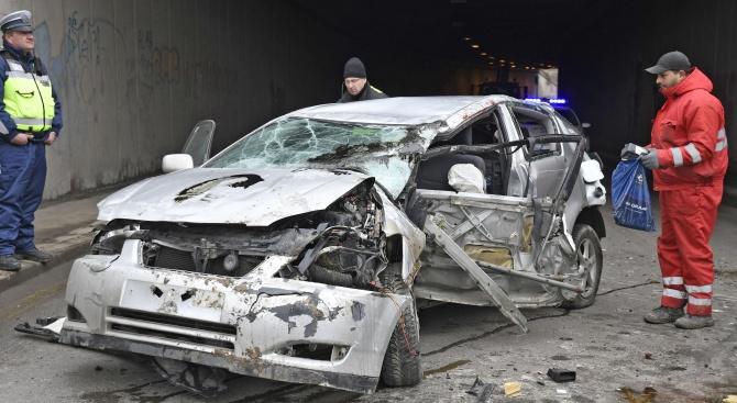 Шофьорка предизвика ПТП в Пловдив и рани мъж