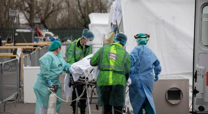 Белгия съобщи, че няма да приема болни от Ковид-19 от