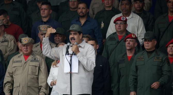САЩ обвинихаМадуро в наркотероризъм, предложиха милиони за задържането му
