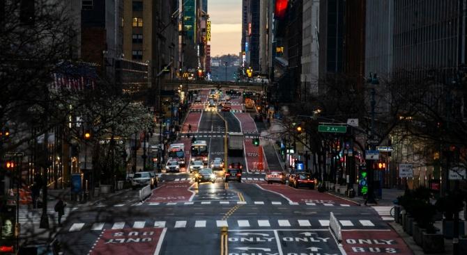 Кметът на Ню Йорк Бил де Блазио заяви в петък,