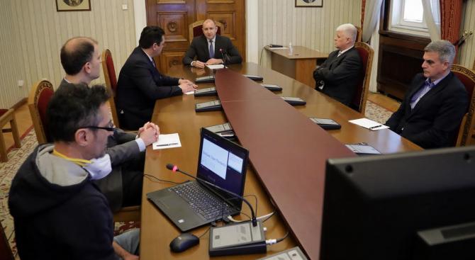 Румен Радев се срещна с представители на сектора на информационните технологии