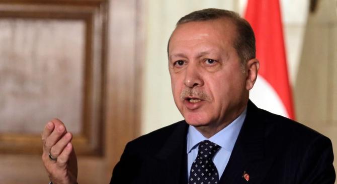 Турският президент Реджеп ЕрдоганРеджеп Тайип Ердоган - турски политик и