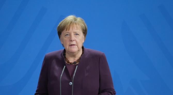 Ангела Меркел благодари на германците, че спазват мерките за ограничававето на COVID-19