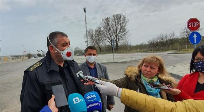Трафикът на българо-турската граница върви нормално