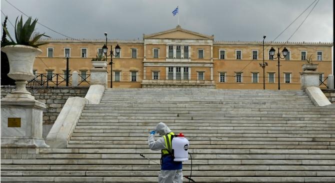 В Гърция през последното денонощие са регистрирани 95 нови случая