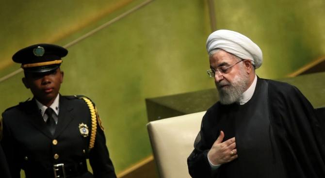 Президентът на Иран Хасан РоханиСедмият президент на Иран Хасан Рохани