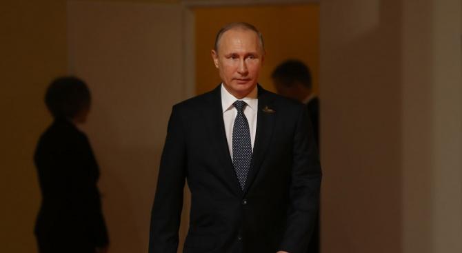 Президентът на Русия Владимир Путин Владимир Путин - руски политик.