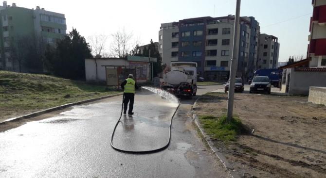 Продължават противоепидемичните мерки на община Хасково срещу разпространението на коронавируса,