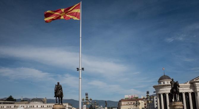 Тази неделя бе много необичайна в Скопие, тъй като всички