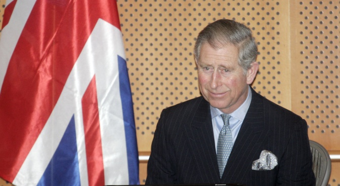 Британският престолонаследник се чувства добреБританският престолонаследник принц Чарлз е излязъл
