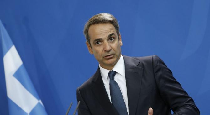 Гръцкият премиер Кириакос Мицотакис отправи призив към депутатите от управляващата