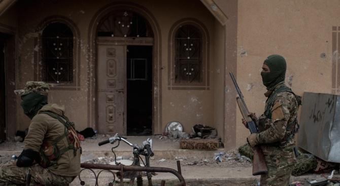Подкрепяните от САЩ Сирийски демократични сили (СДС) потушиха опит за