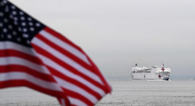 Плаваща военна болница - корабът