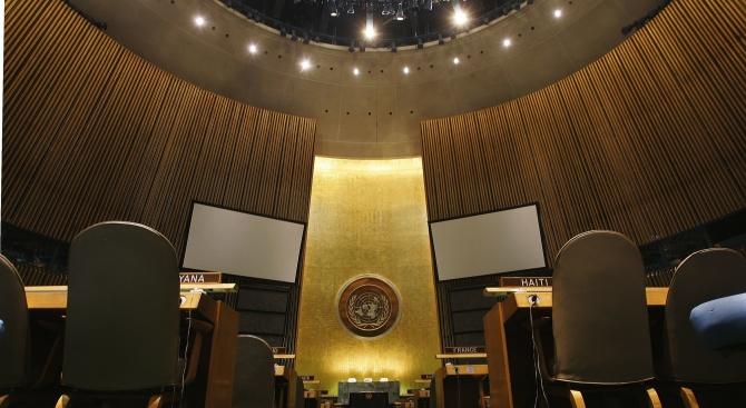 Съветът за сигурност на ООН вчера прие с безпрецедентна писмена