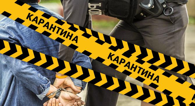 Видинската полиция разследва четири нови случая на нарушаване на домашната