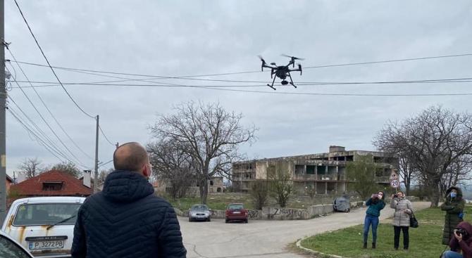 Ето как дронове ще пазят опустелите заради коронавируса вилни зони в Русенско